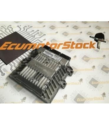 CENTRALITA MOTOR ECU 5WS40115C-T  5WS40115CT  SID804  SW9652890280