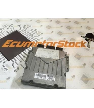 CENTRALITA MOTOR ECU 5WS4040023E-T  5WS40023ET  SID801  SW9646529580